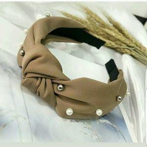 🌻Super cute headband pearl bow
